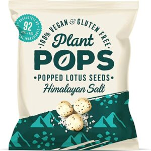 Plant Pops Popped Lotus Seeds