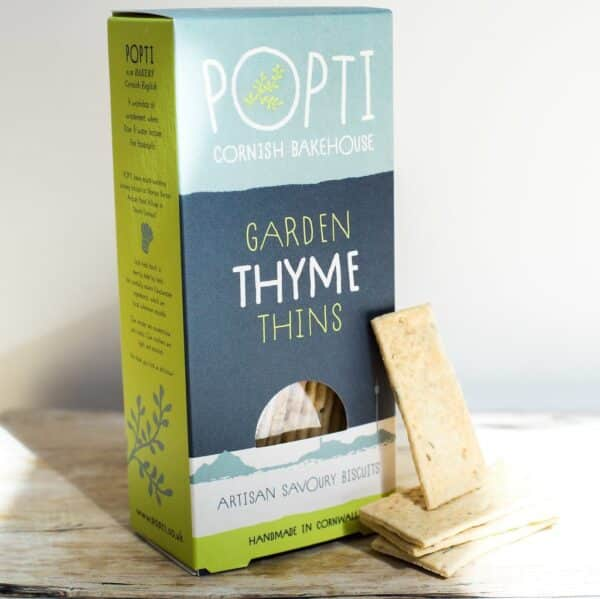 popti thyme savoury biscuits